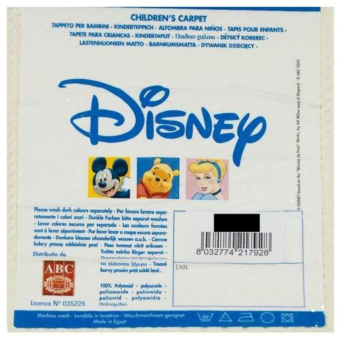ABC Disney Tappeto Winnie Beige 80 x 140 cm