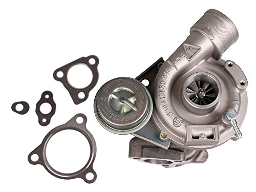 HENYEE Turbo Exact Fit Turbo Charger for VW PASSAT & AUDI A4 1996-2006 Turbine A/R .87-1.8 1.8T K03 250+HP Turbocharger & Gaskets,12 Month-Warranty