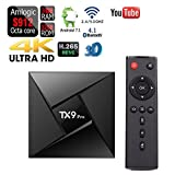 SHENGMO TX9 Pro TV Box Android 7.1 Set top Box Amlogic S912 3GB RAM 32GB ROM 2.4 / 5.8GHz WiFi Support 4K 3D Bluetooth 4.1