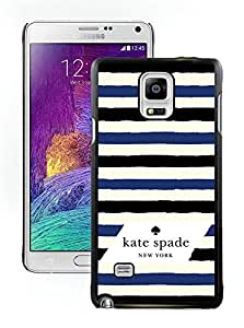 Popular Customize Samsung Galaxy Note 4 Phone Case Kate Spade New York Unique Cover Case For Samsung Galaxy Note 4 N910A N910T N910P N910V N910R4 34 Black