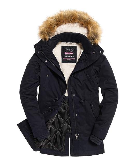 promo code dc62c 212fc Amazon.com: Womens Model Microfibre Jacket Super Dark Navy ...