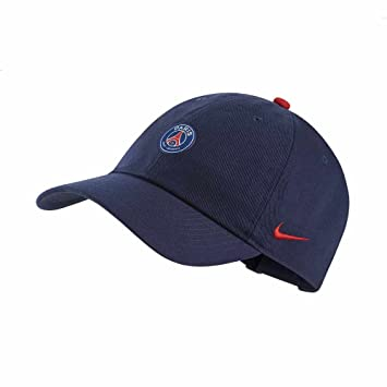 b6ff162b703c40 Nike 2018-2019 PSG H86 Core Cap (Navy): Amazon.co.uk: Sports & Outdoors