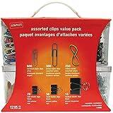 Kit Organizador Contém Clips, Prendedor de Papel e Elástico Staples® Sortido