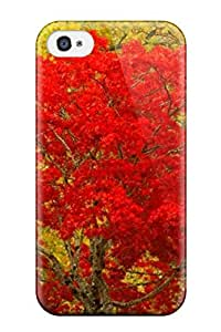 High Grade Jonathan J Harris Flexible Tpu Case For Iphone 4/4s - Nature S
