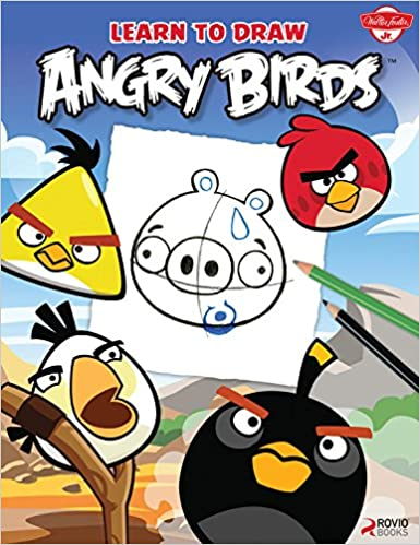 how to draw all the angry birds