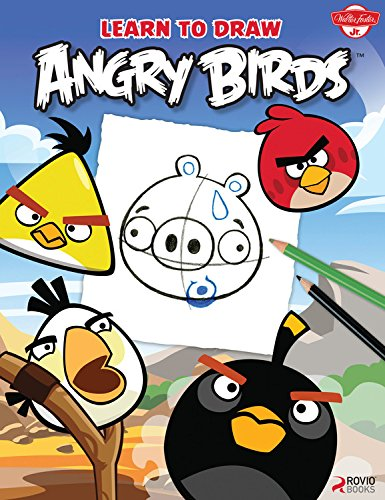 Learn To Draw Angry Birds Learn To Draw All Of Your Favorite Angry Birds And Those Bad Piggies Licensed Learn To Draw Walter Foster Creative Team 0050283313014 Amazon Com Books