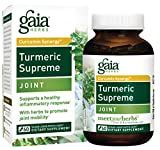 Cheap Gaia Herbs Turmeric Supreme Joint, Vegan Liquid Capsules, 60 Count – Turmeric Curcumin Supplement Supports Joint Health & Mobility, Occasional Pain