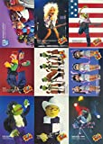 JIM HENSON'S MUPPETS 1993 CARDZ COMPLETE BASE CARD SET OF 60 KERMIT MISS PIGGY