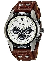 Fossil Men's CH2890 Coachman Analog Display Analog Quartz Brown Watch
