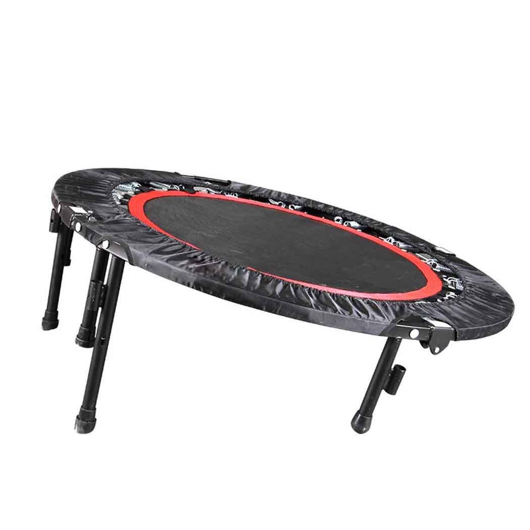 Trampolin faltbar mit Haltestange Indoor, Durchmesser ca. 102cm, Belastbarkeit ca. 100 kg, 6 stabile Füße