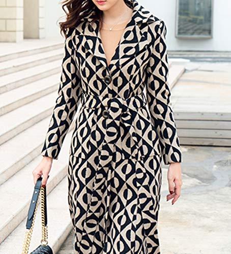 Plaer Plaer Abrigo Abrigo Para Mujer B1wgzUq