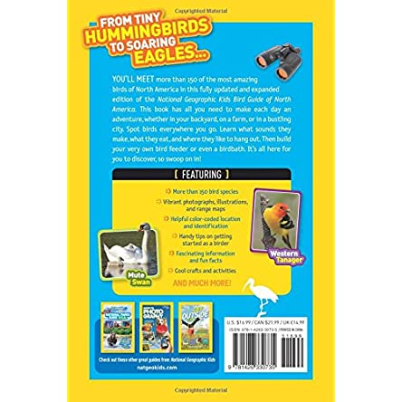 National Geographic Kids Bird Guide of North America,...
