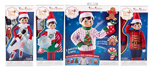 Amazon.com: Elf on The Shelf Sweater, Superhero, Solider ...