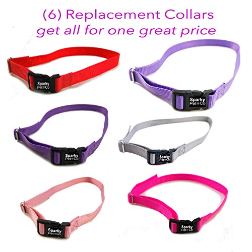 3/4″ Solid Girl Dog Colors Receiver Replacement Straps- Set of 6 Wireless Straps Review