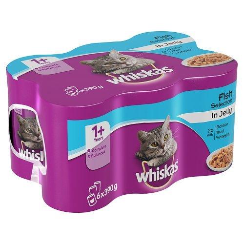 Whiskas Salmon Cat Food Tinned