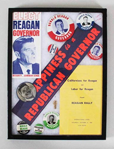 - Ronald Reagan Pin Collection Election Buttons