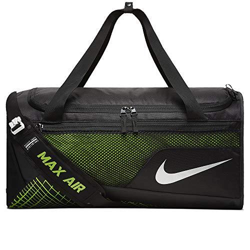 9686967d00 Nike Mens Vapor Max Air Medium Training Duffel Bag BA5475-010 - Black Volt  - Buy Online in UAE.