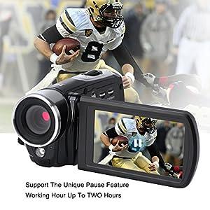 "Digital Camera Full HD Video Camcorder 1080p 24.0 MP Point and Shoot Camera Anti Shake 3"" Flip Screen Teleconverter Close-up Lens … from COMI"
