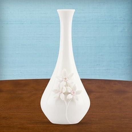 Amazon Flora Forget Me Knots 8 Bud Vase By Lenox Decorative
