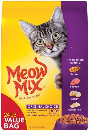 Meow Mix Original, Extra Large, 24-Pound Bag