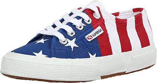 Superga Unisex 2750 Cotu Flag – USA USA Sneaker 36 (US Men's 4.5, US Women's 6) Medium