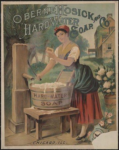 Infinite Photographs Photo: Oberne Hosick & Co,soap Advertisement,Chicago,IL,c1886