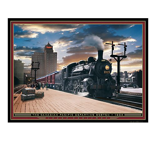 - Serendipity The Canadian Pacific 1000 Piece Jigsaw Puzzle