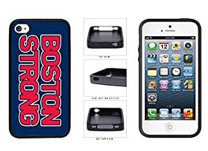 Boston Strong TPU RUBBER SILICONE Phone Case Back Cover Apple iPhone 4 4s