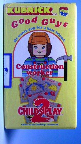 キューブリック チャイルドプレイ2 チャッキー Construction workerの商品画像