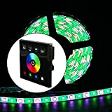 RGBZONE RGB LED Dimmer Wall Switch Wall- Mounted
