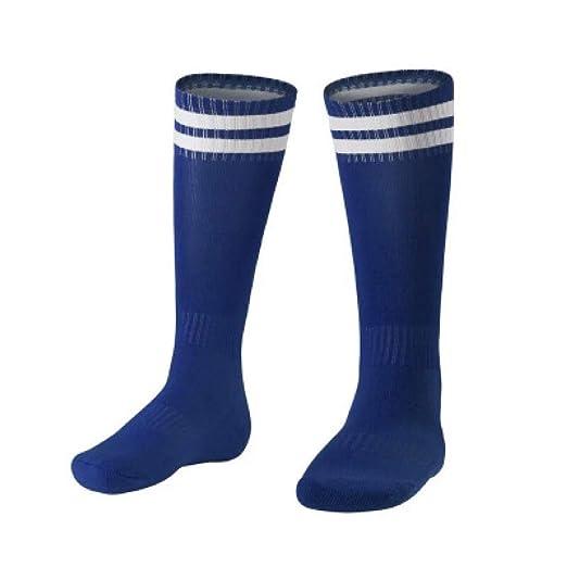 WADUANRUN Calcetines de fútbol para niños/Calcetines de fútbol ...