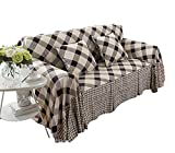 Loveseat Sofa Furniture Protector Slipcover, Holiday Style (200*260cm)