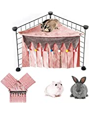 Hamster gömställe, små djur bur gömställe dekoration, husdjur gömställe bur tillbehör, för marsvin chinchilla igelkott råtta ekorre illrar dvärg kanin