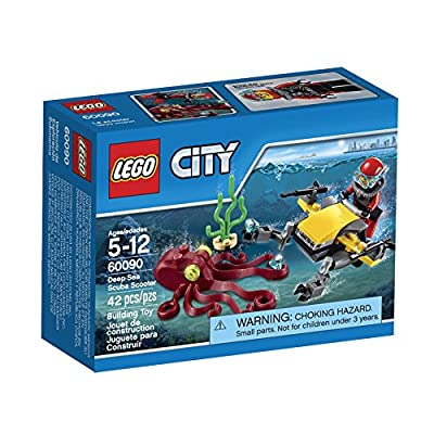 LEGO City Deep Sea Explorers 60090 Scuba Scooter Building Kit: Toys & Games