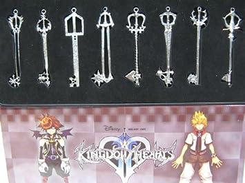 Amazon kingdom hearts ii 8 keyblade pendant set sora necklace kingdom hearts ii 8 keyblade pendant set sora necklace aloadofball Image collections
