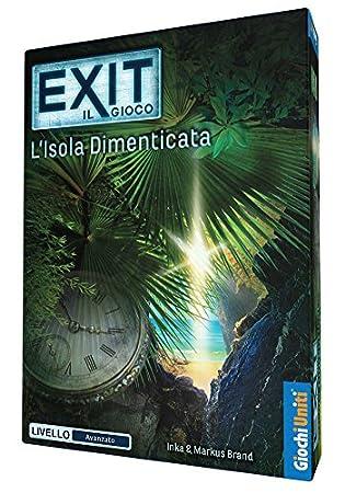 Giochi Uniti - Exit: L Isla dimenticata - Juegos de Mesa, Versión ...