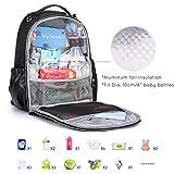 mommore Diaper Backpack Wash-Free Diaper Bag Baby