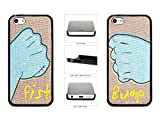 Best MYPHONE DESIGNS Friend 5c Phone Cases - Best Friends Fist Bump Plastic Phone Case Back Review