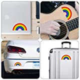 dealzEpic - Rainbow Shaped Sticker - Self