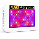 MarsHydro 300W LED Grow Light Full Spectrum for Hydroponic Indoor Plants Growing Veg and Flower