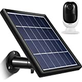 Solar Panel Compatible with Reolink Go, Reolink Argus 2, Reolink Argus Pro (Camera not Included), Weather Resistant, 5 m/ 16.4 ft Power Cable and 360 Degree Mount Bracket, 5 V/ 3.5 W (Max)