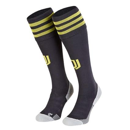 adidas Juventus Third Carbono, Amarillo Masculino - Calcetines (Calcetines hasta Media Pantorrilla, Carbono