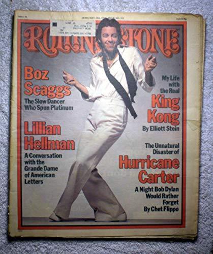 - Boz Skaggs - Rolling Stone Magazine - #233 - February 24, 1977 - Rubin Hurricane Carter/Bob Dylan Article