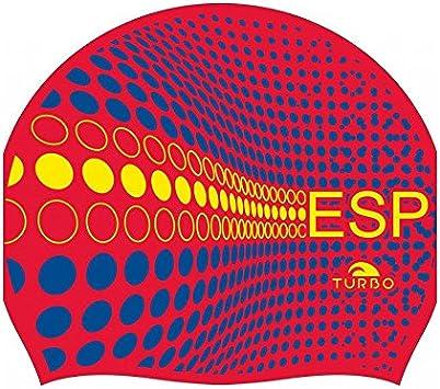 Turbo - gorro Natacion Silicona ESPAÑA Silicone Cap … (rojo ...