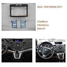 Autostereo Car Radio Mounting Audio Frame Fascia Adaptor for HONDA CR-V 2012+ Car Stereo Fascia in Dash CD Trim Installation Kit