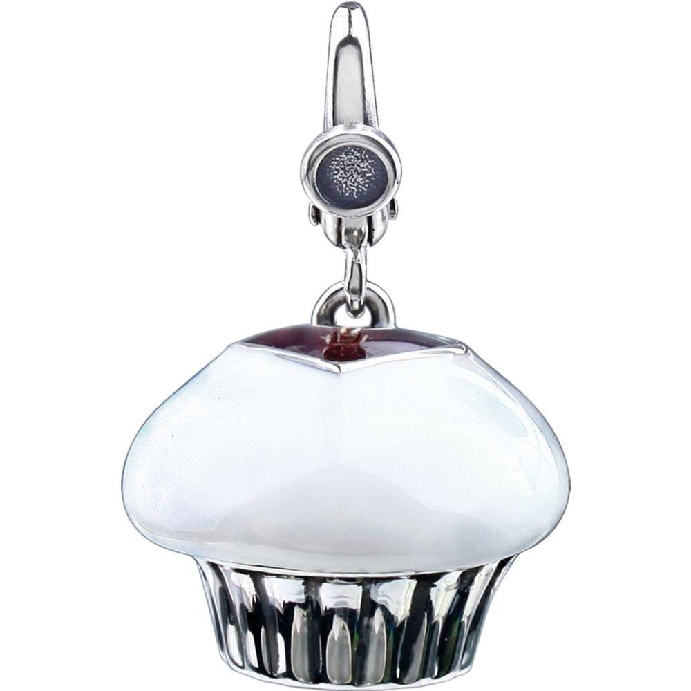 Enamel Cupcake Charm by DiamondJewelryNY