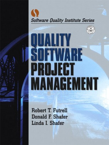 Quality Software Project Management, Two Volume Set by Prentice Hall