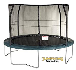 jumpking 8ft jumppod select trampoline and enclosure package jps8