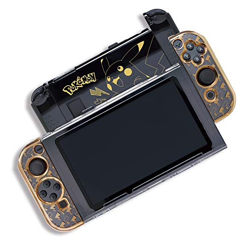 HORI Nintendo Switch Pikachu Protector - Nintendo Switch (Pokemon Gold Best Starter)