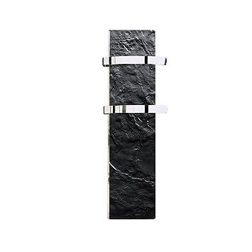 CLIMASTAR Slim Handtuchhalter Panel Heizung schwarz Slate ...
